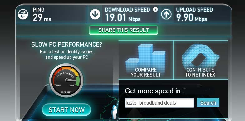 150 Mbps vs 300 Mbps - Wireless N Network Speed Comparison