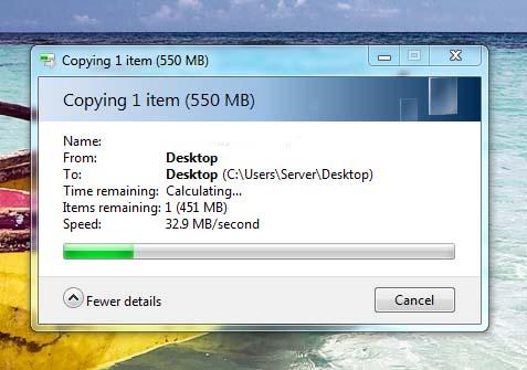 Hardwired File Transfer