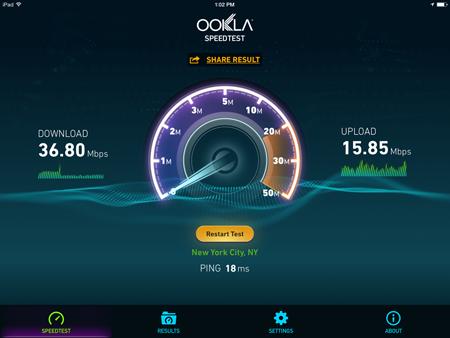 Edimax EW-7438RPn V2 Internet Speed Test 2
