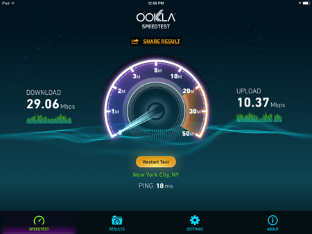 TP Link Access Point Internet Speed Test 2
